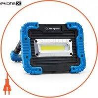 Ліхтар 10W COB LED WF57 + Мicro USB кабель в комплекті (3 режими освітлення, поворотний кронштейн, харчування Li-ion 18650, 3.7V, 4400mAh)