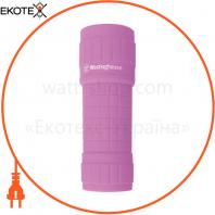Ліхтарик 3W COB WF87 +  3 ? AAA/R03 батарейки в комплекті (рожевий)