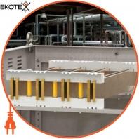 Изолятор шинный плоский ИШП 4P для шин 5 и 10 мм 303 мм IEK