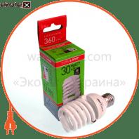 t2 spiral 30w 2700k e27 энергосберегающие лампы eurolamp Eurolamp