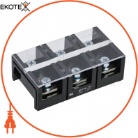 Блок затискачів БЗН ТВ-604 6 мм2 60A 4 пары IEK