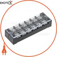 Блок затискачів БЗН ТВ-4506 4,5 мм2 45A 6 пар IEK