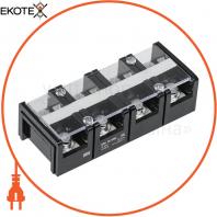 Блок затискачів БЗН ТС-1004 35 мм2 100A 4 пари IEK