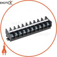 Блок затискачів БЗН TK-100 25 мм2 100А на DIN-рейку 10 пар IEK