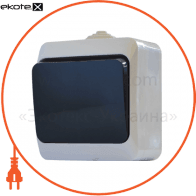 Выкл. одноклавишный с черной клавишей ВЗ10-1-IP44N