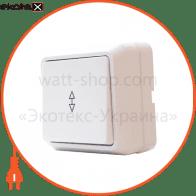 Выключатель 1-кл. проходной ВЗп10-1-0-Cb-W арт. ВЗп10-1-0-Cb-W