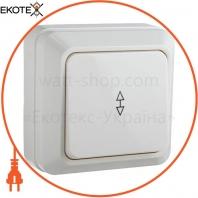 Выключатель 1-кл. проходной ВЗп10-1-0-Ct-W (белый)