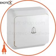 Выключатель звонковый ВЗд10-Cm-W (белый)
