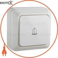 Выключатель звонковый ВЗд10-Ct-W (белый)