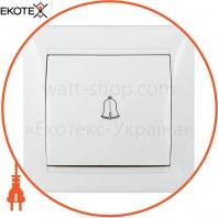 Выключатель звонковый ВВд10-Fr-W (белый)