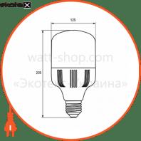 euroelectric led лампа надпотужна plastic 50w e40 6500k (20)