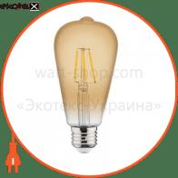 Лампа FILAMENT LED A60 6W Е27 2200K 540Lm 220-240V