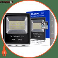 Светодиодный прожектор GLOBAL Flood Light 70W 5000K