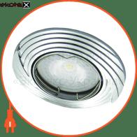 Встраиваемый светильник Feron DL6227 хром 30087
