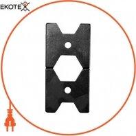 Матрица Е173 для обжима изолированных гильз  к инструменту e.tool.crimp.hydr.p.10.150