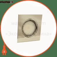 светильник точечный поворотный HDL16009 50Вт G5.3 хром