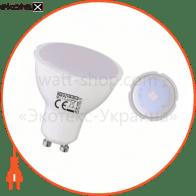 Лампа JCDR SMD LED 4W 3000K/4200K/6400K GU10 250Lm 220-240V
