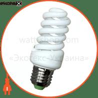 Лампа енергозберігаюча e.save.screw.E27.15.2700.T2, тип screw, патрон Е27, 15W, 2700 К, колба Т2