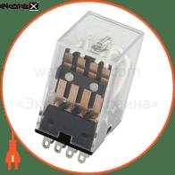 Реле промежуточное e.control.p341 3А, 4 группы контактов, катушка 12В DC