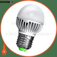 Лампа светодиодная e.save.LED.G45M.E27.5.4200 тип шар, 5Вт, 4200К, Е27