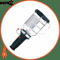 Переносной светильник с ручкой из каучука с выключателем, IP44 106-0400-0106 2P+PE, 1*16A, 220-240V (каучук)