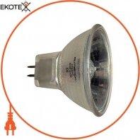 Лампа галогенная e.halogen.mr16.g5.3.12.50 с отражателем, патрон G5.3, 12V, 50W