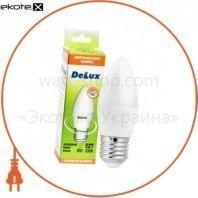 лампа светодиодная DELUX BL37B 7 Вт 6500K 220В E27 холодный белый