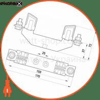 тримач запобіжника e.industrial.fb.nt0, габарит 0, 160а силовые предохранители Enext i0760030