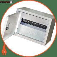 шафа e.mbox.stand.n.06.z металева, під 6 мод., навісна, з замком корпуса металлические модульные Enext s0100019