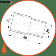 s5035002 Enext трубы металлические и аксессуары перехідник e.pipe.bts.connect.stand.20.25 для труб d20-25мм