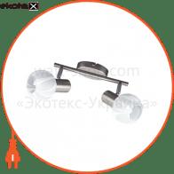 Світильник потолочний декор. 455mm 3xE14 мат.хром 220-240v