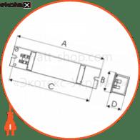 электромагнитный дроссель для люминесцентных ламп т8 mb-158  d-mb-1025 дроссель Electrum D-MB-1025