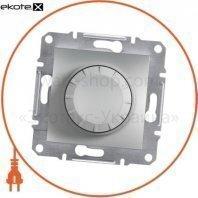 Asfora Светорегулятор поворотный/600RL/двунаправленный (MTN5133-0000), без рамки, алюминиевый