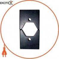 Матрица Е215 для обжима изолированных гильз к инструменту e.tool.crimp.hydr.p.10.150
