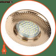 Встраиваемый светильник Feron DL6042 античное золото 30123