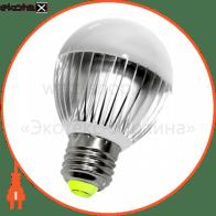 Лампа светодиодная e.save.LED.А60E.E27.6.2700 тип шар, 6Вт, 2700К, Е27