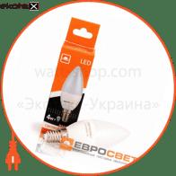 Светодиодная лампа С-4 4W 4200K E14 220V С-4-4200-14