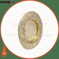 светильник точечный поворотный DELUX HDL16110R 50Вт G5.3 хром-золото