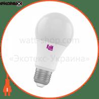 Лампа светодиодная стандартная B60 PA10L 8W E27 3000K алюмопл. корп. 18-0126