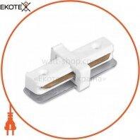 Коннектор прямой LD1004 белый