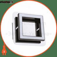 Світ.стельовий 120*120 mm SMD LED 5Вт хром 4000К 150Lm /1/24