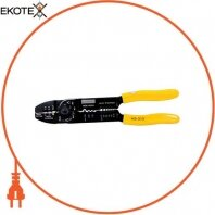 Инструмент e.tool.crimp.hs.313 для обжима, резки, зачистки проводов