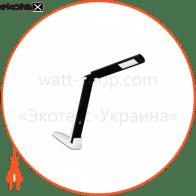 світильник настільний DELUX_TF-310_5 Вт 4000К LED біло-чорний