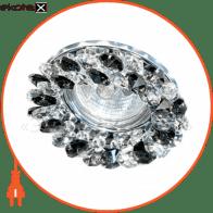Встраиваемый светильник Feron CD4141 черный хром 19926