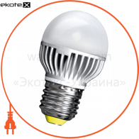 Лампа светодиодная e.save.LED.G45M.E27.5.2700 тип шар, 5Вт, 2700К, Е27