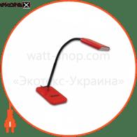 світильник настільний DELUX TF-230 3 Вт LED червоний