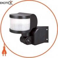 Датчик движения инфракрасный e.sensor.pir.13. black (черный) 270°, IP44