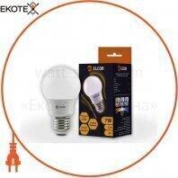 Светодиодная LED лампа ELCOR 534305 Е27 А55 7Вт 760Лм 4200К