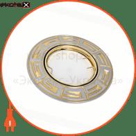светильник точечный поворотный DELUX HDL16103R 50Вт G5.3 хром мат.-золото