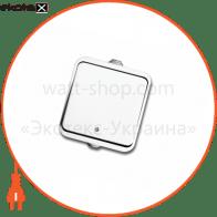 вимикач NEPTUN 2221 1-клавішний білий (IP44)
